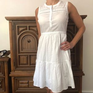 Old navy white sun dress